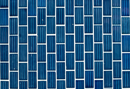 Blue tiled wall  photo