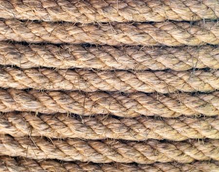 Hemp rope texture photo