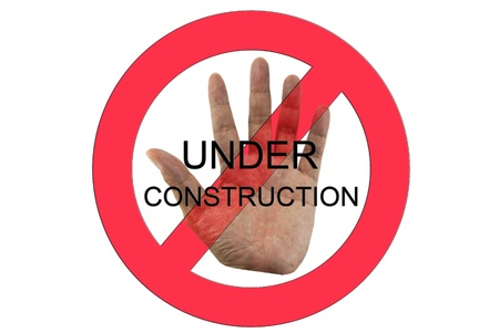 Under construction  Stock Photo - 12876690