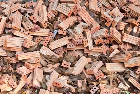 Pile of bricks Stock Photo - 13034442