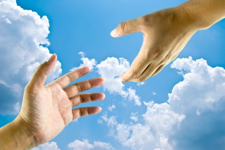hand of god: Helping hands