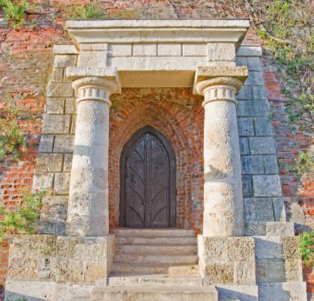 Ancient door photo