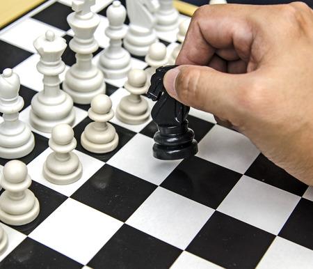 jugando ajedrez: Jugando al ajedrez