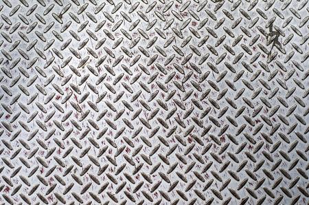diamond plate: Grunge diamond plate texture Stock Photo