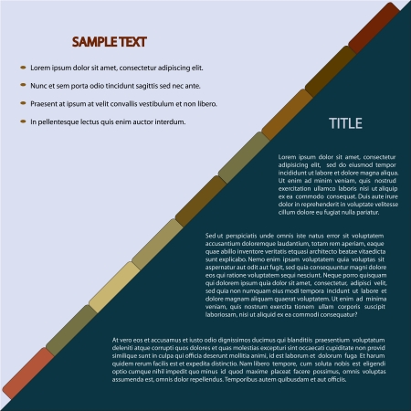 eart: Elegant Template of Eart Tone Colors in Modern Business Background with Copy Space for Text Decorated