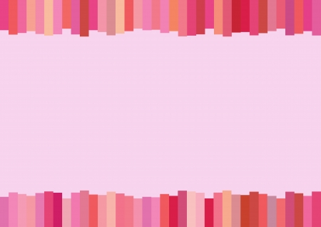 An Illustration of Multi Shade of Vertical Pink Lines Modern Background with Copy Space for Text Decorated  Stock Vector - 17849866