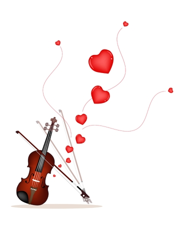 fiddlestick: Beautiful Violin Playing A Romantic Love Song