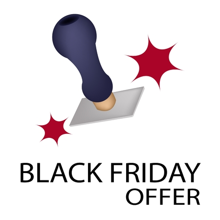 stamper: Handle Stamper Ready to Stamping Black Friday Offer for Black Friday Shopping Season and Biggest Discount Promotion in A Year.