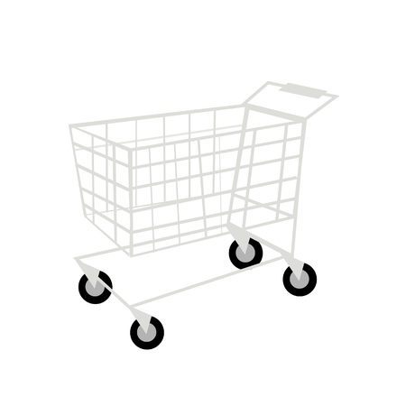 shopping buggy: Business Concepts, Shopping Cart, Trolley or Buggy, Sign for Shopping Season.