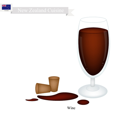 alcoholic beverage: New Zealand Cuisine, Red Wine Is A Traditional Alcoholic Beverage. One of The Most Popular Drink in New Zealand.