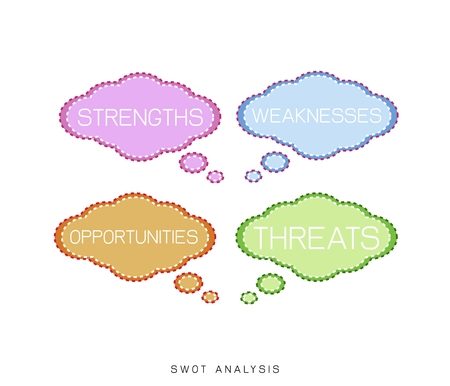 tactics: Business Concepts, SWOT Analysis Matrix A Structured Planning Method for Evaluate Strengths, Weaknesses, Opportunities and Threats Involved in Business Project. A Foundation Strategy Management Plan.