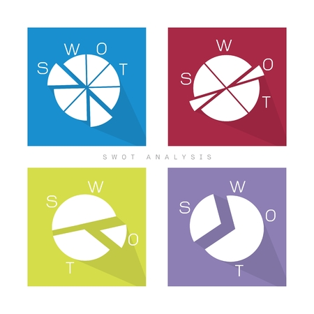 weaknesses: Pie Chart of SWOT Analysis Matrix A Structured Planning Method for Evaluate Strengths, Weaknesses, Opportunities and Threats Involved in Business Project. A Foundation Strategy Management Plan.