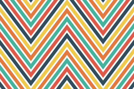 Colourful chevron pattern for background and wrapping paper design Stock Photo
