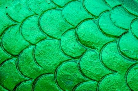 Thai green textured  photo
