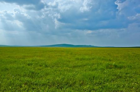 grassland: Inner Mongolia grassland scenery Stock Photo
