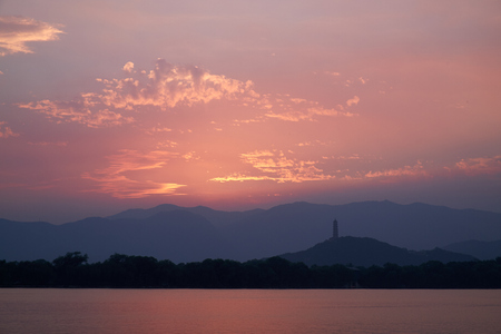 the summer palace: The Summer Palace landscape