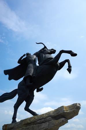 mongolia horse: Equestrian statues