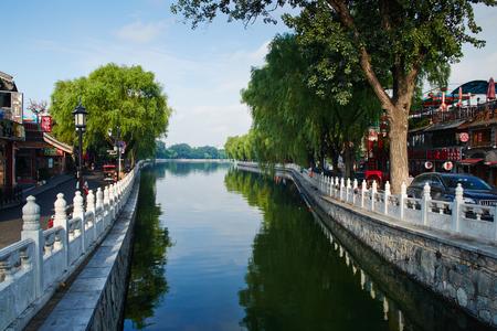 hot spot: ShiChaHai area,Beijing,hot spot for tourist Editorial