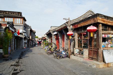 hot spot: YanDaiXieJie in ShiChaHai area,Beijing,hot spot for tourist