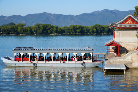summer palace: The Summer Palace landscape, Beijing Editorial