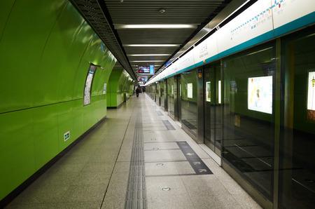Beijing subway station Editorial