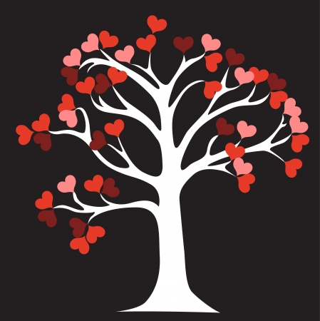 love tree: Love Tree Illustration