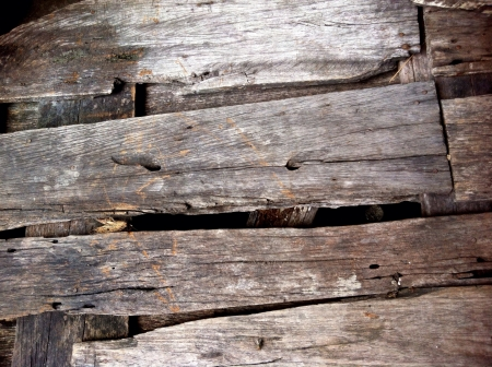 Old wood floor background Stock Photo