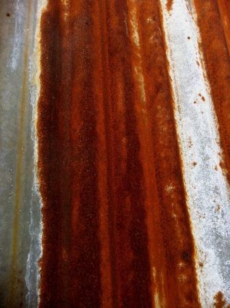 Rusty metal sheet