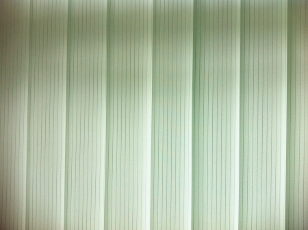 Venetian blinds with back light Stock Photo