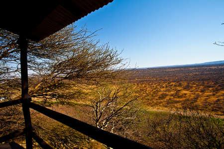 Serowe landscape Botswana