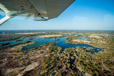 Okavango Delta: Okavango Delta Aerial photo
