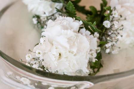 White Carnation Boutonniere