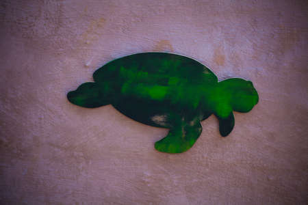 Children wall art idea Turtle