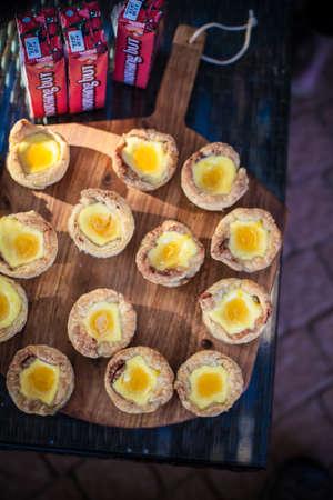 Mini homemade sweet pastries