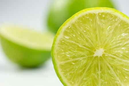 frutas tropicales: fruta de la cal Foto de archivo