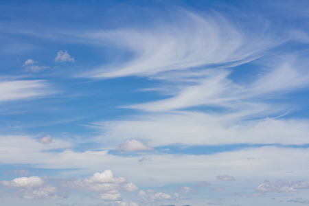 ozone layer: beautiful sky