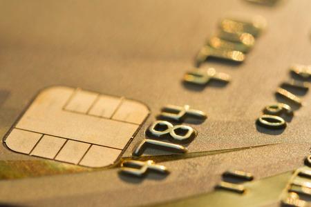 tarjeta de credito: tarjeta de cr�dito chip EMV macro