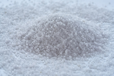 a heap of ammonium sulphate Stock fotó