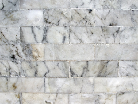 Texture of white grey marble wall Stock Photo