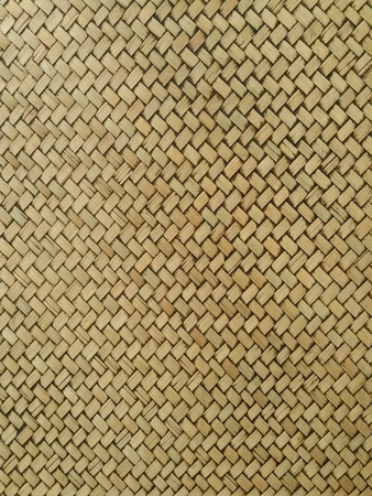 weave: Texture pattern of brown bamboo weave
