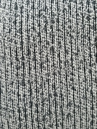 Texture pattern of black and white cloth.