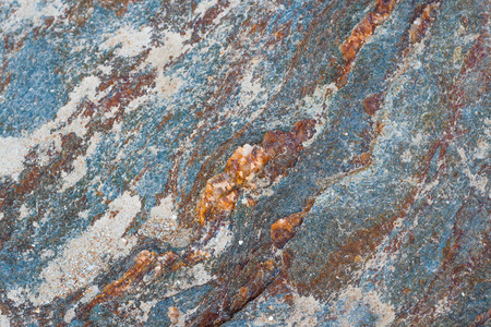 Texture background of rock granite stone in many color Stock Photo