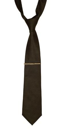 Mens necktie isolated on white
