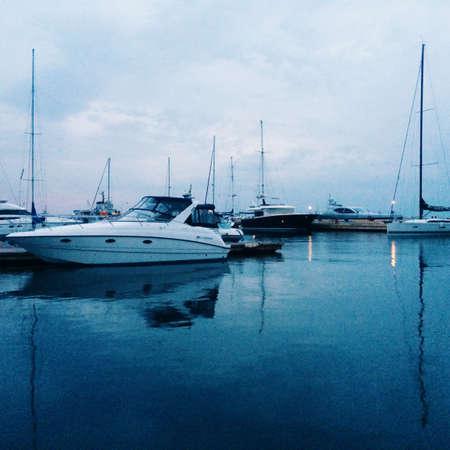 odessa: Ships in Odessa port Stock Photo