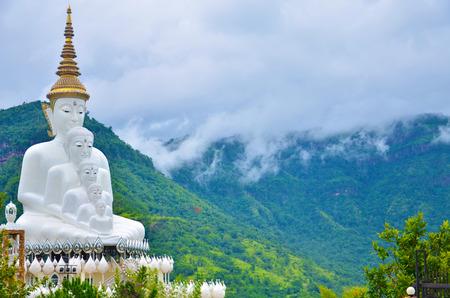 lord buddha: 5 lord Buddha at Petchaboon of Thailand