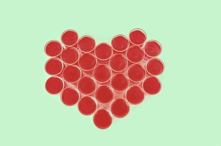 mug shot: heart pattern by mug shot and drink for valentines day