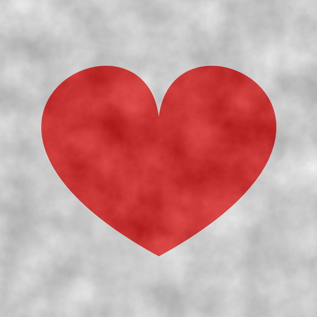 snug: heart symbol for valentines day Stock Photo