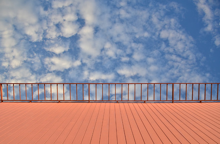 balcony view: balcony view of sky