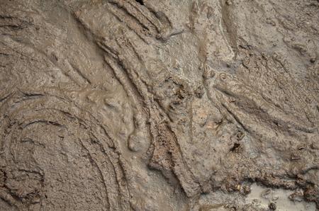 Liquid dirt, mud