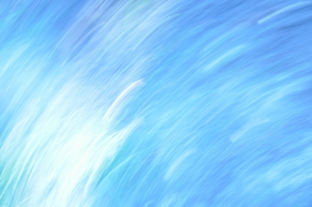 atmospheric: Abstract Painted Background, this picture by centrifugal force out of focus, blue Stock Photo